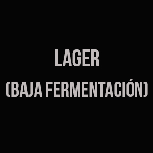 Lager (Baja fermentación)